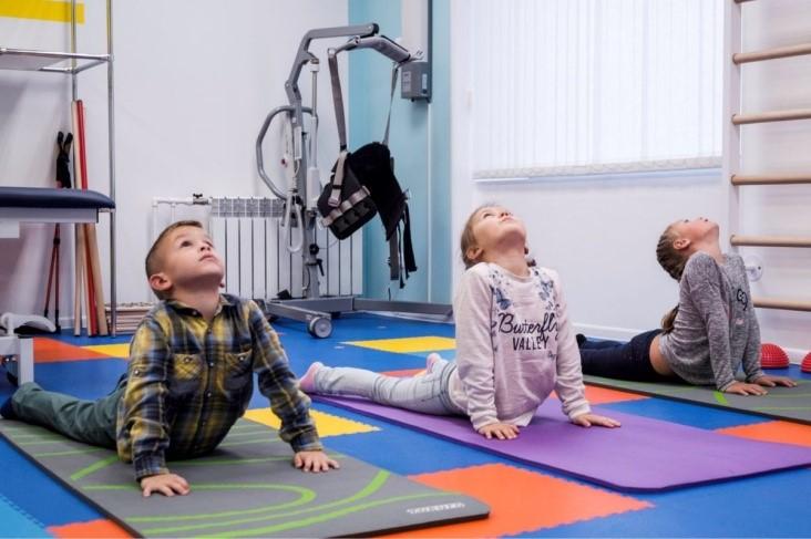ЛФК для детей с ДЦП